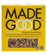 MadeGood Chocolate Banana Organic Granola Bars