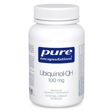 Pure Encapsulations Ubiquinol-QH 100 mg