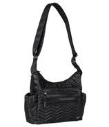 Lug Camper Cross-Body Bag Midnight Black