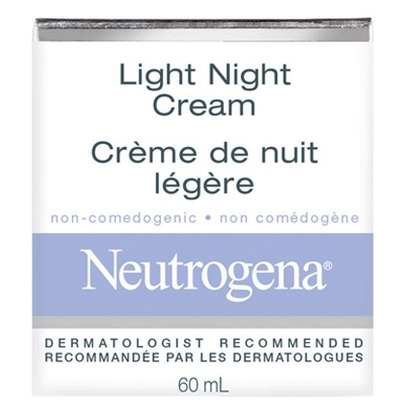 buy neutrogena light night cream from canada at free. Black Bedroom Furniture Sets. Home Design Ideas