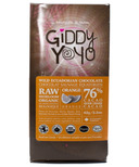 Giddy Yoyo Organic Raw Orange 76% Dark Chocolate Bar