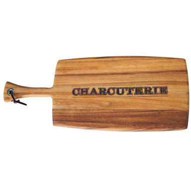 Ironwood Gourmet Charcuterie Acacia Wood Paddle Board