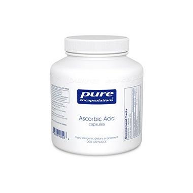 Pure Encapsulations Ascorbic Acid Capsules