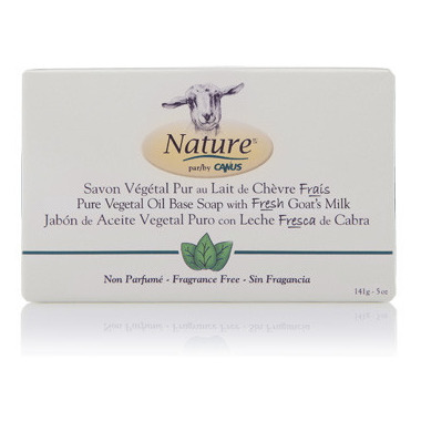 Nature by Canus Pure Vegetal Oil Base Soap Fragrance Free