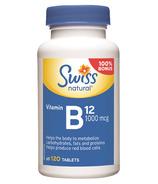 Swiss Natural Vitamin B12 BONUS