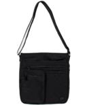 Lug Monorail Convertible Crossbody Bag Midnight Black