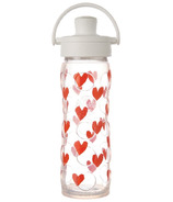 Lifefactory Glass Bottle with Active Flip Cap & Silicone Sleeve Tru Love