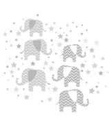WallPops Elephants A Ton of Love Large Wall Art Kit