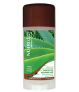 NUTRIdeo by Terra Naturals Unscented Natural Deodorant