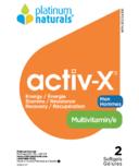 Platinum Naturals Activ-X Men Sample