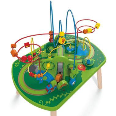 Hape Jungle Play & Train Activity Table