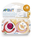 Philips AVENT Animal Classic Pacifier Pack