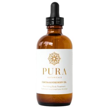 Pura Botanicals Cocoa & Rose Body Oil
