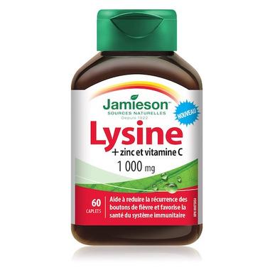 Jamieson Lysine + Zinc and Vitamin C