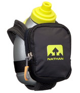 Nathan Sports QuickShot Plus Hydration Flask Black