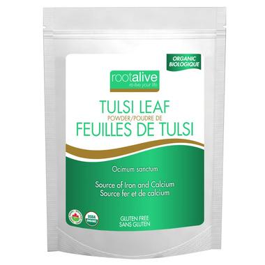 Rootalive Organic Tulsi Leaf Powder