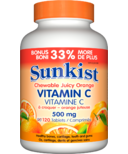 Sunkist Vitamin C Chewable Juicy Orange