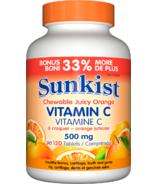 Sunkist Vitamin C Chewable Juicy Orange