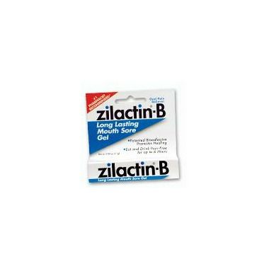 Zilactin-B Long Lasting Mouth Sore Gel