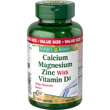 Nature\'s Bounty Calcium Magnesium Zinc