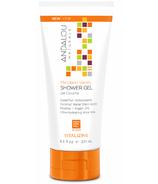 ANDALOU naturals Mandarin Vanilla Vitalizing Shower Gel