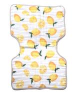Little Unicorn Cotton Muslin Burp Cloth Lemon