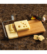 Prodyne Bamboo Cheese Slicer
