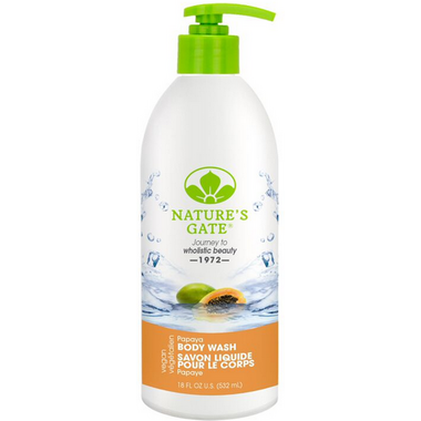 Nature\'s Gate Papaya Velvet Moisture Body Wash
