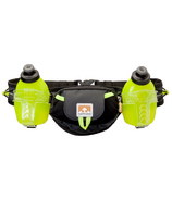 Nathan Sports TrailMix Plus 2 Hydration Belt Black/Safety Yellow