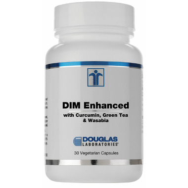 Douglas Laboratories DIM Enhanced With Curcumin, Green Tea and Wasabia