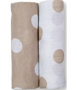 Lulujo Baby Cotton Muslin Swaddles
