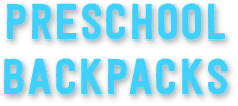 Preschol Backpacks