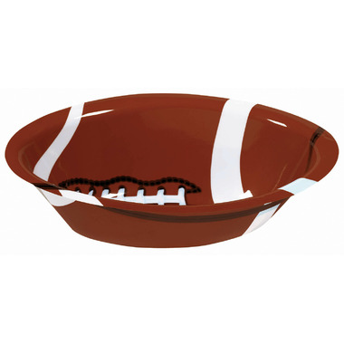 Football Fan Plastic Bowl