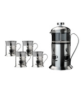BergHOFF French Press 5pc Coffee Set