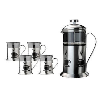 BergHOFF French Press 5pc Coffee Set