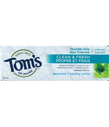 Tom's of Maine Clean & Fresh Fluoride-Free Toothpaste