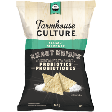 Farmhouse Culture Sea Salt Kraut Krisps