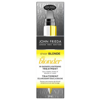 John Frieda Sheer Blonde Go Blonder In-shower Lightening Treatment