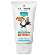ATTITUDE Little Ones 100% Mineral Sunscreen Fragrance Free