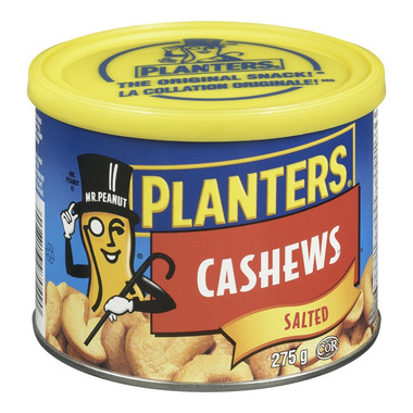 Planters Cashews With Salt
