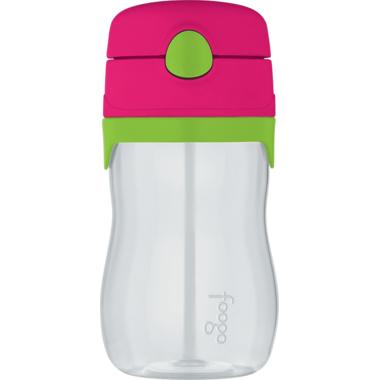 Foogo Tritan Leak Proof Straw Bottle Watermelon & Green