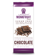 Lakanto Monk Fruit Sweetened Chocolate Bar with Cocoa Nibs