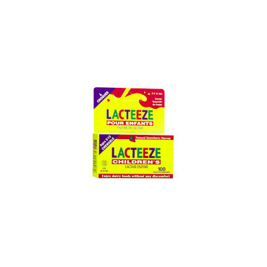 Lacteeze Childrens Tablets