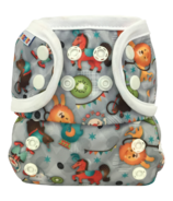 Bummis All-in-One Cloth Diaper Snap Circus