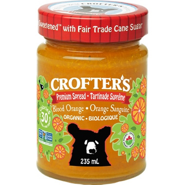 Crofter\'s Organic Blood Orange Premium Spread