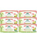 Aleva Naturals Bamboo Baby Ultra Sensitive Wipes 5+1 Pack