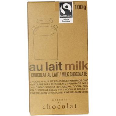 Galerie au Chocolat Milk Chocolate Bar