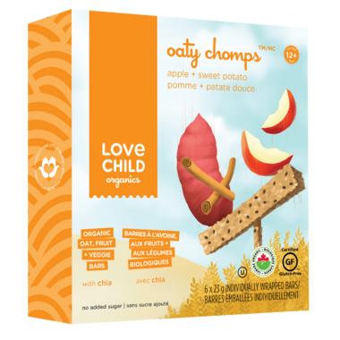 Love Child Organics Apple and Sweet Potato Oaty Chomps