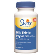 Swiss Natural Sources Milk Thistle Phytolipid Capsules
