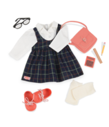 Our Generation Perfect Score School Uniform Delux Outfit